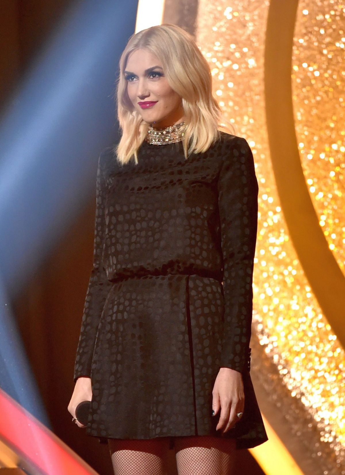 GWEN STEFANI at iHeartRadio Music Awards 2014 in Los Angeles