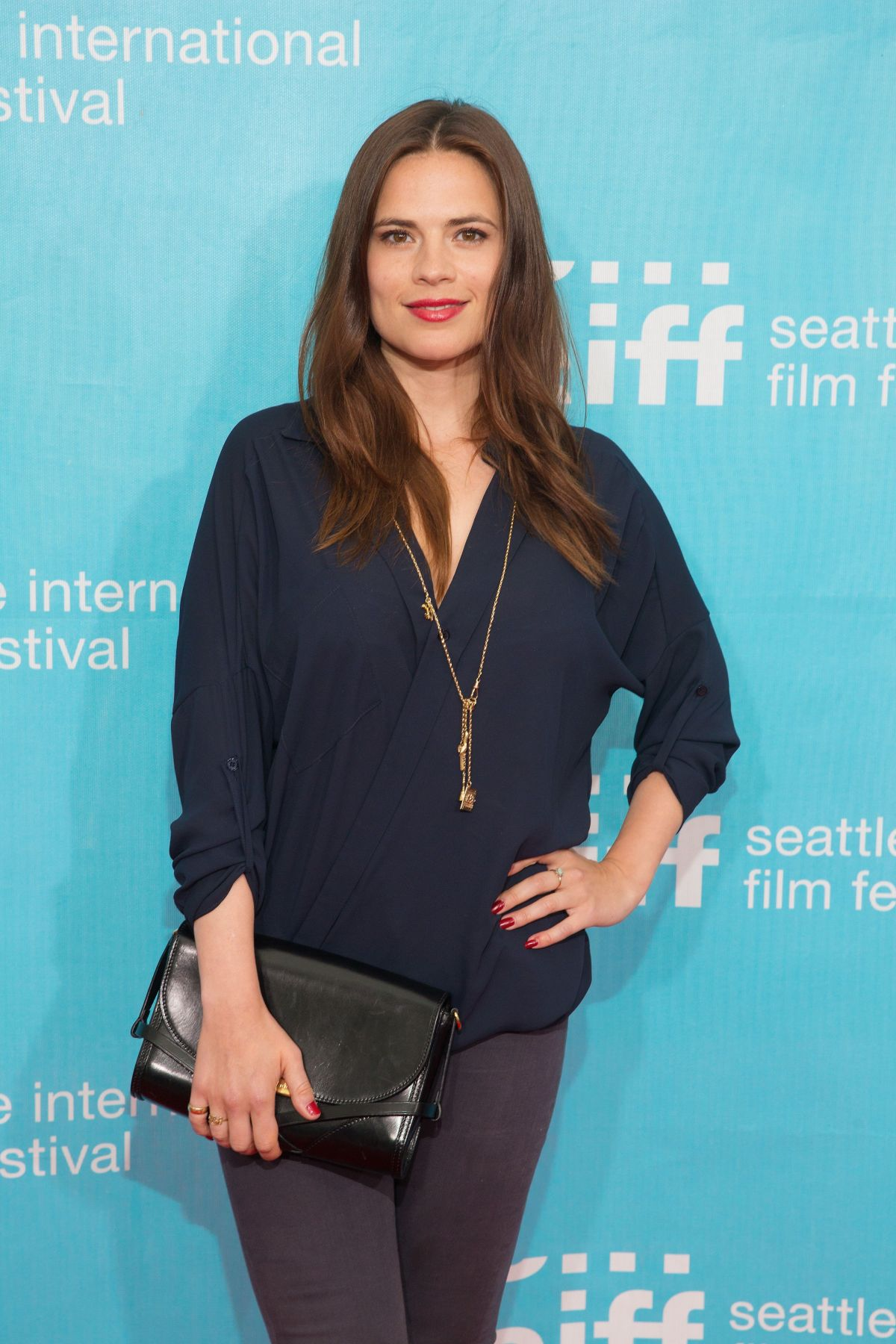 HAYLEY ATWELL at Seattle International Film Festival 2014 Opening Night