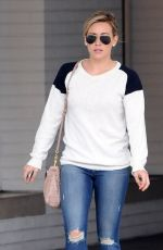 HILARY DUFF Out for Breakfast in Beverly Hills