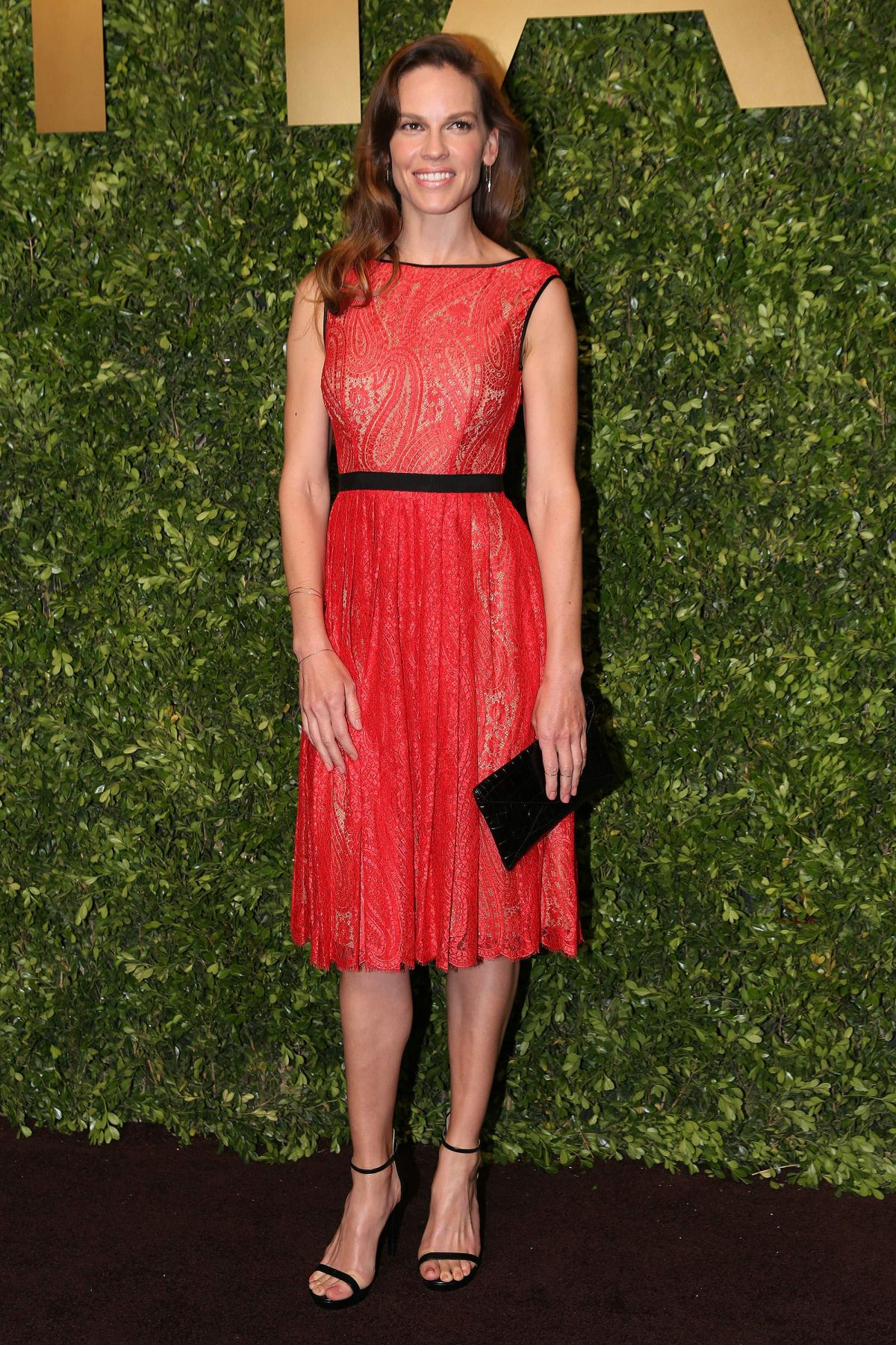 HILARY SWANK at Michael Kors Kerry Centre Store Opening in Shanghai