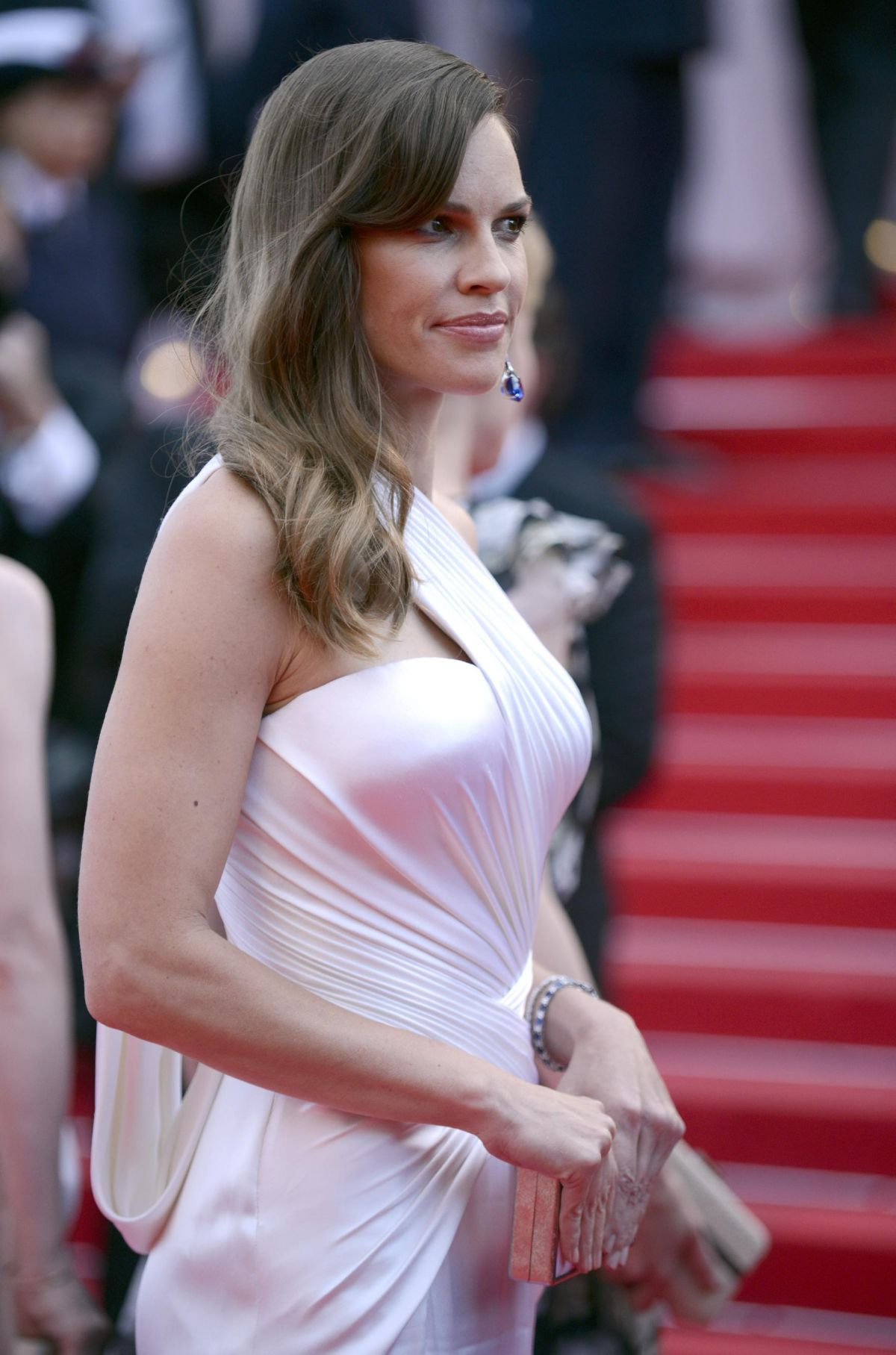 HILARY SWANK at The Homesman Premiere at Cannes Film Festival