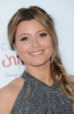 HOLLY VALANCE at Caudwell Children Butterfly Ball in London