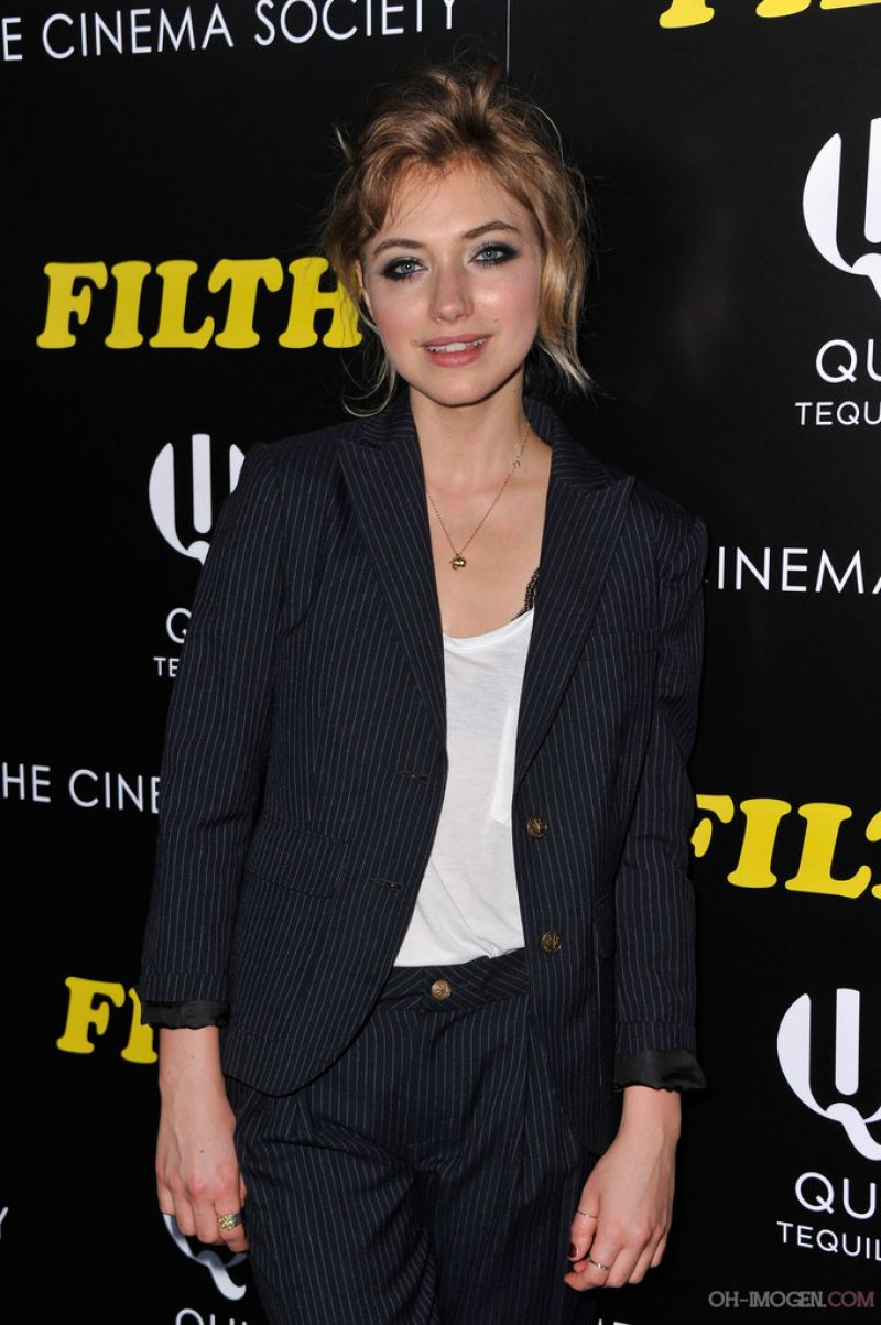 IMOGEN POOTS at Filth Screening in New York