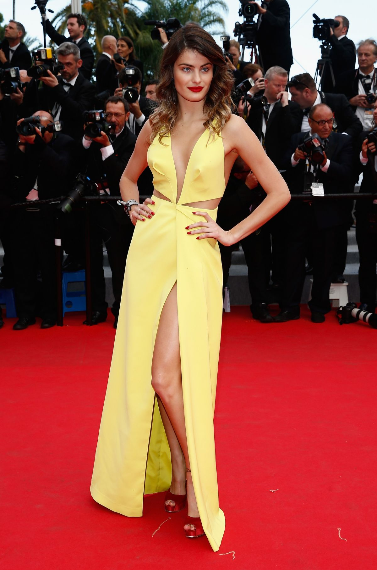 ISABELI FONTANA at Saint Laurent Premiee at Cannes Film Festival