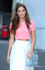 JACQUELINE JOSS at ITV Studios in London