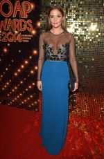 JACQUELINE JOSSA at British Soap Awards 2014 in London