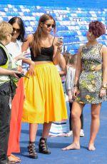 JACQUELINE JOSSA at Footy 4 Harry Charity Match in Birmingham