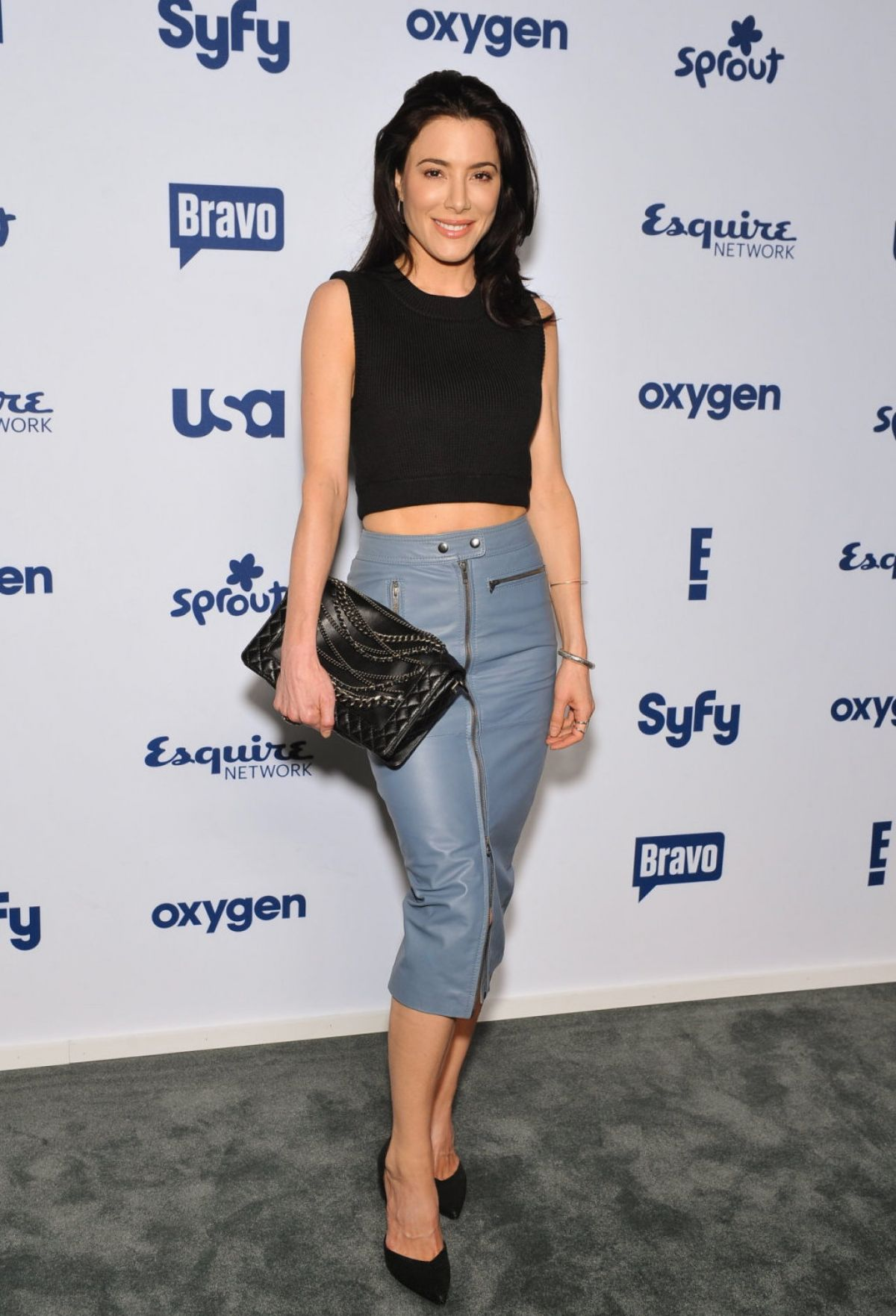 JAIME MURRAY at NBC/Universal Cable Entertainment Upfront Presentation in New York