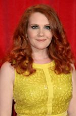 JENNIE MCALPINE at British Soap Awards 2014 in London