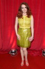 JENNIE MCALPINE at British Soap Awards 2014 in London