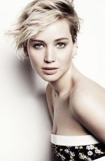 JENNIFER LAWRENCE in Marie Claire Magazine, June 2014 Issue
