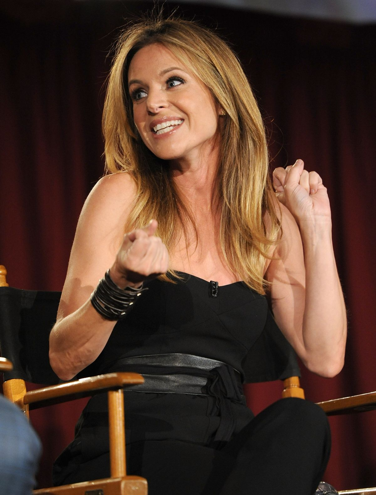 JESSALYN GILSIG at Vikings Panel Discussion in Hollywood