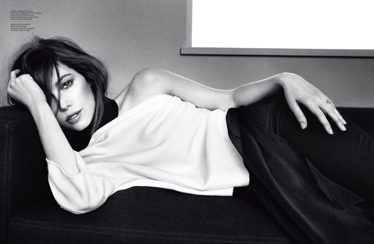 JESSICA BIEL in Dior Magazine, Issue Six 2014