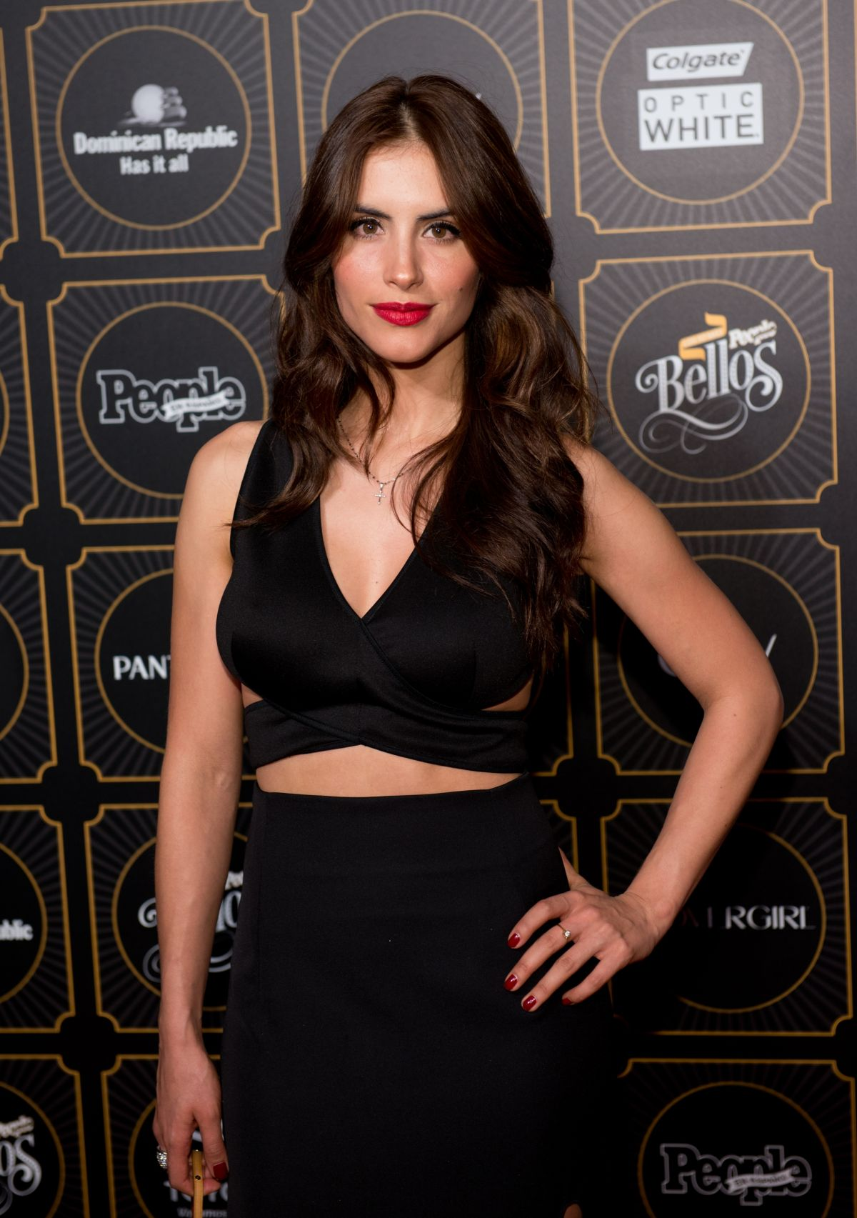 JESSICA CEDIEL at People en Espanol's 50 Most Beautiful Issue Celebration