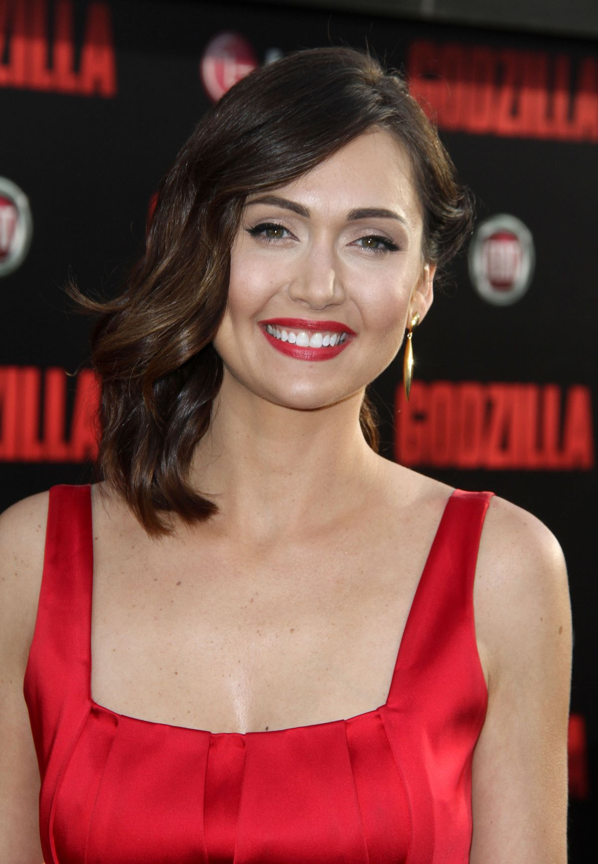 JESSICA CHOBOT at Godzilla Premiere in Los Angeles