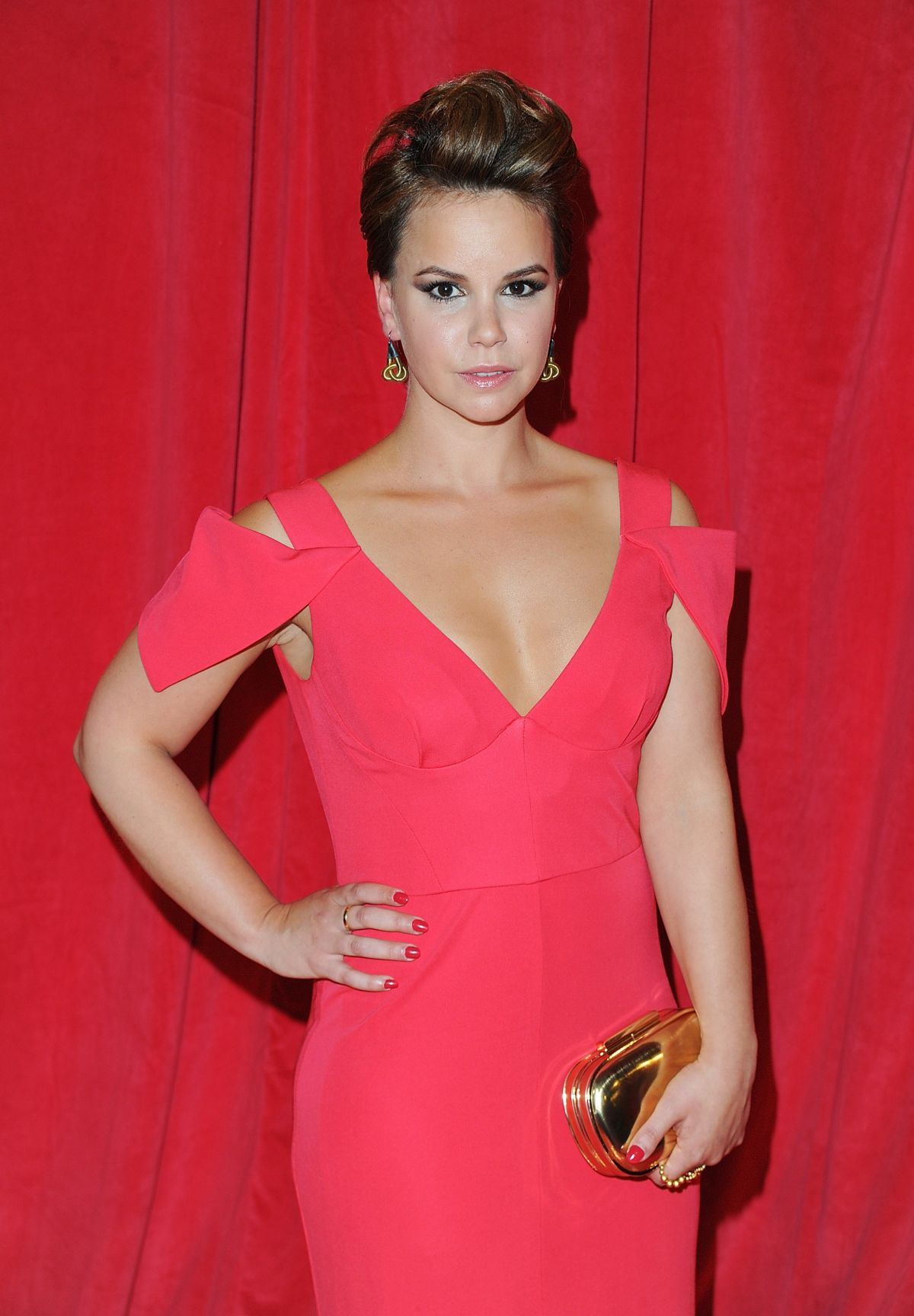 JESSICA FOX at British Soap Awards 2014 in London