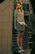 JESSICA HART at a Photoshoot in New York