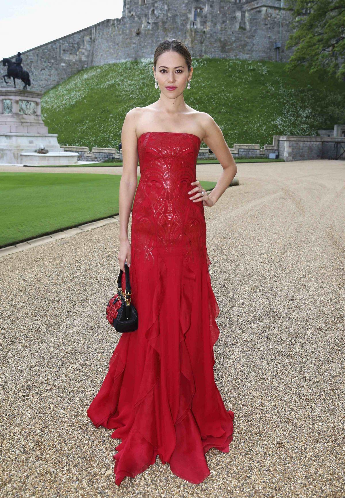JESSICA MICHIBATA at the Duke of Cambridge Celebrates the Royal Marsden in Windsor