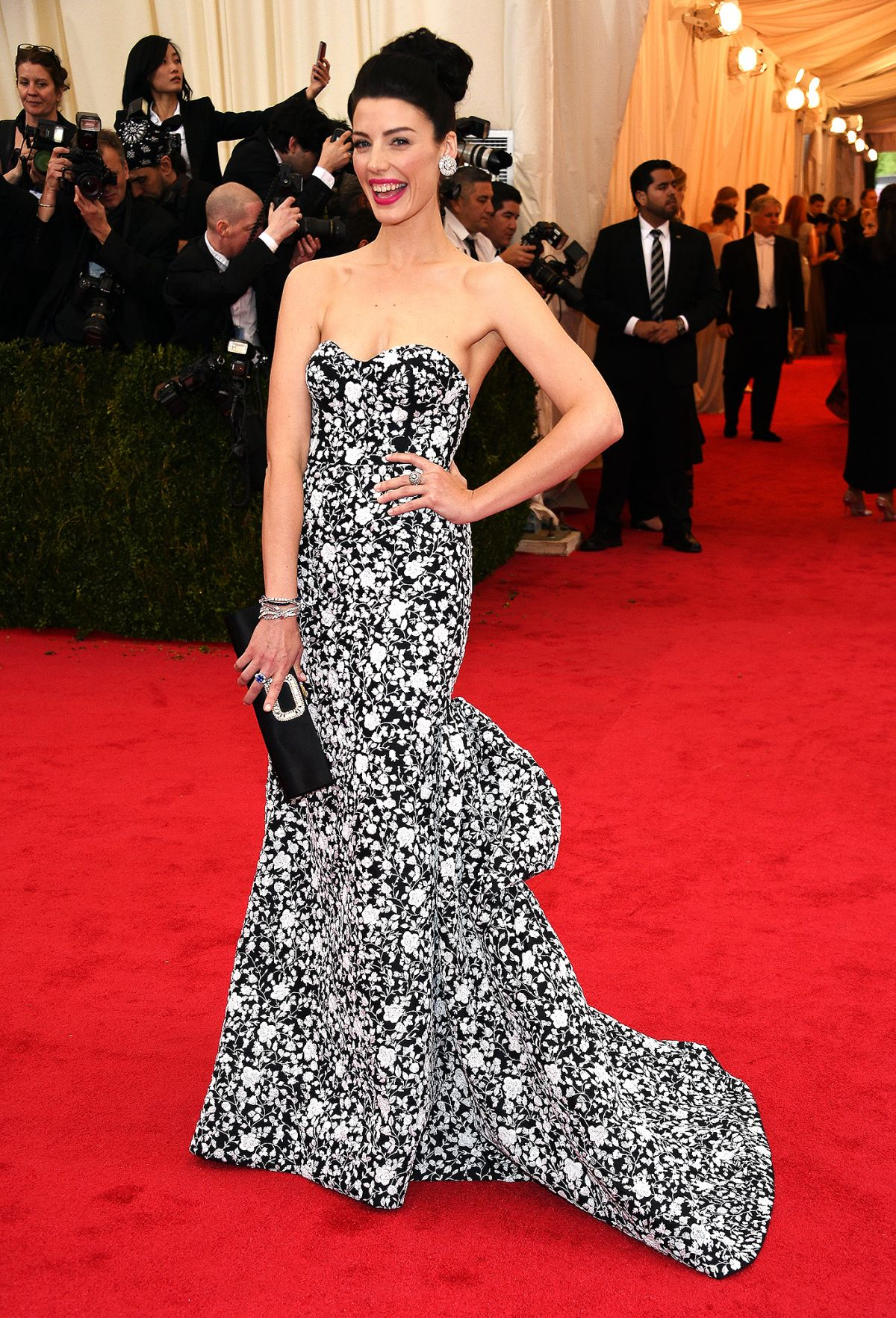 JESSICA PARE at MET Gala 2014 in New York