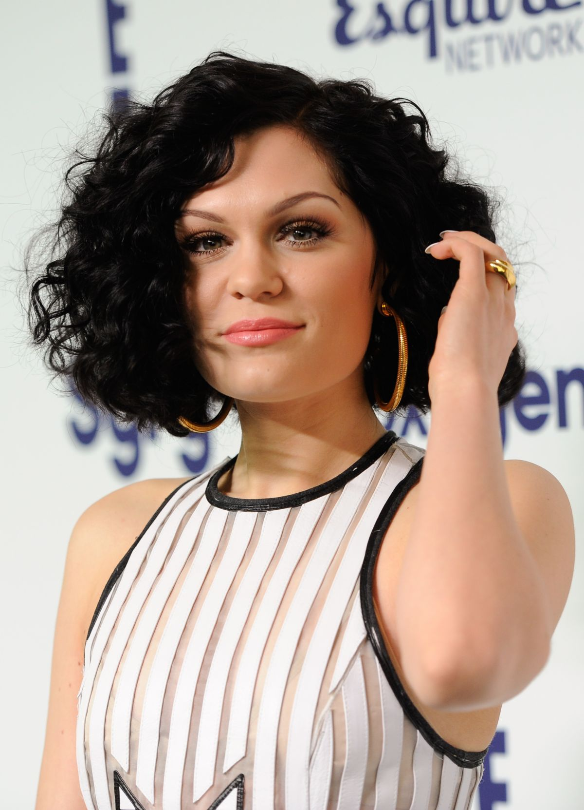 JESSIE J at NBC/Universal Cable Entertainment Upfront Presentation in New York
