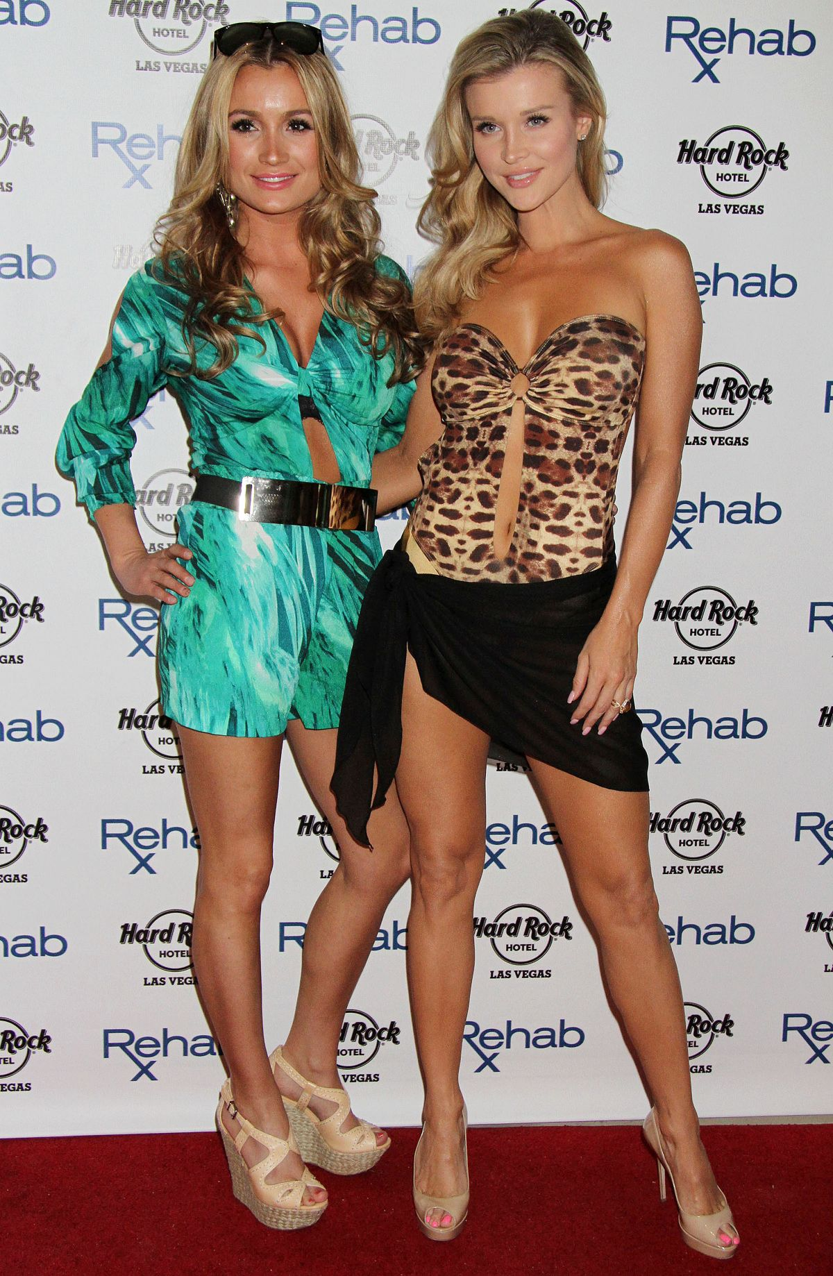 JOANNA and MARTA KRUPA at Rehab Bikini Invitational Round 1