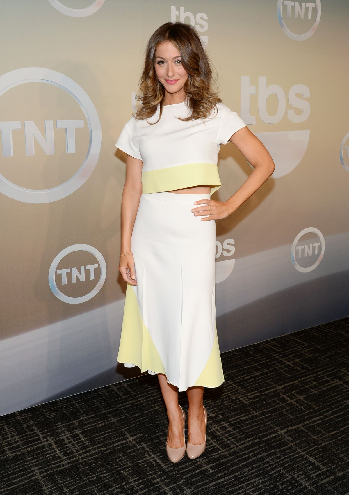 KAT FOSTER at TBS/TNT Upfront 2014 in New York