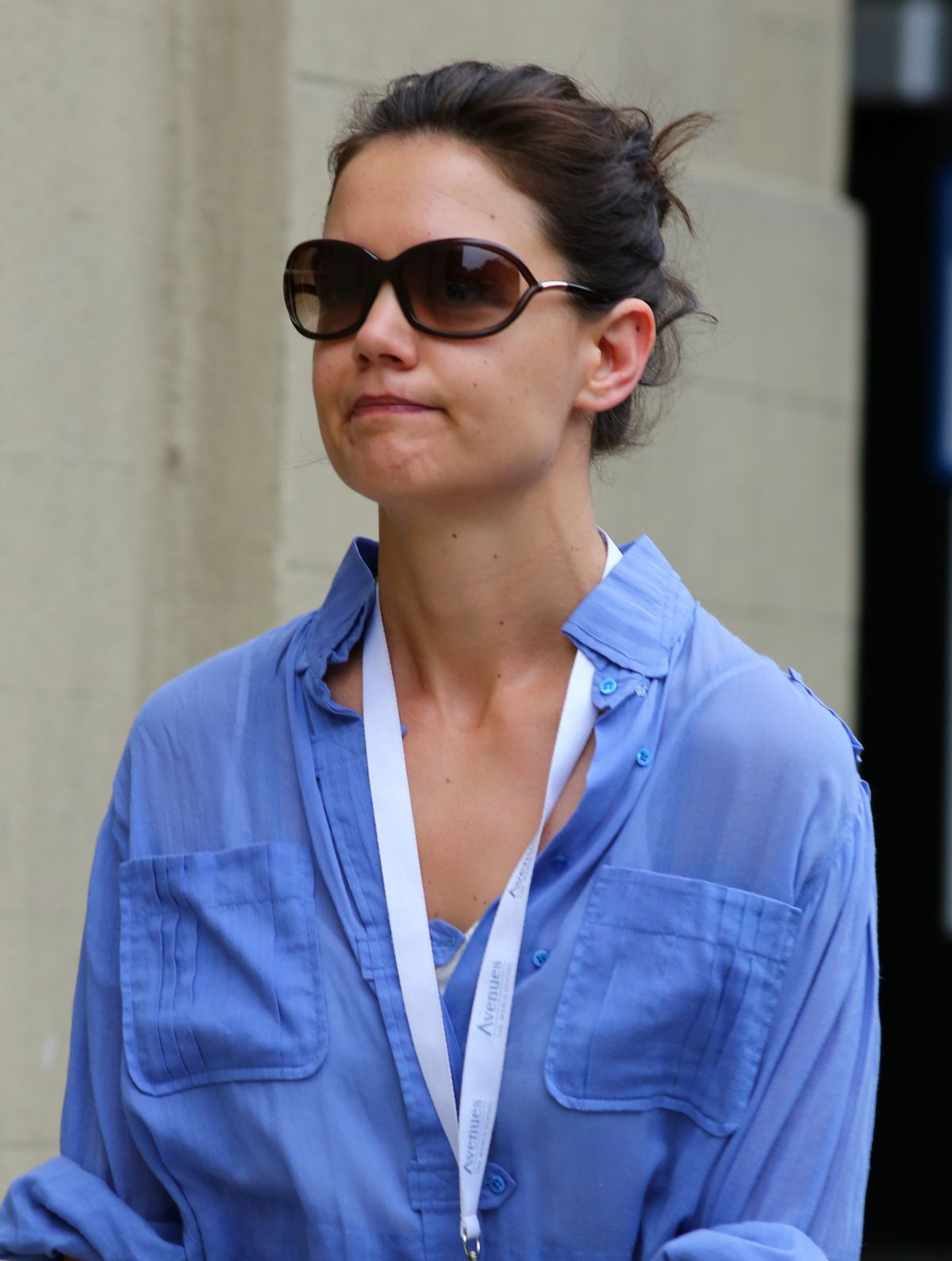 KATIE HOLMES Out and About in New York 2705