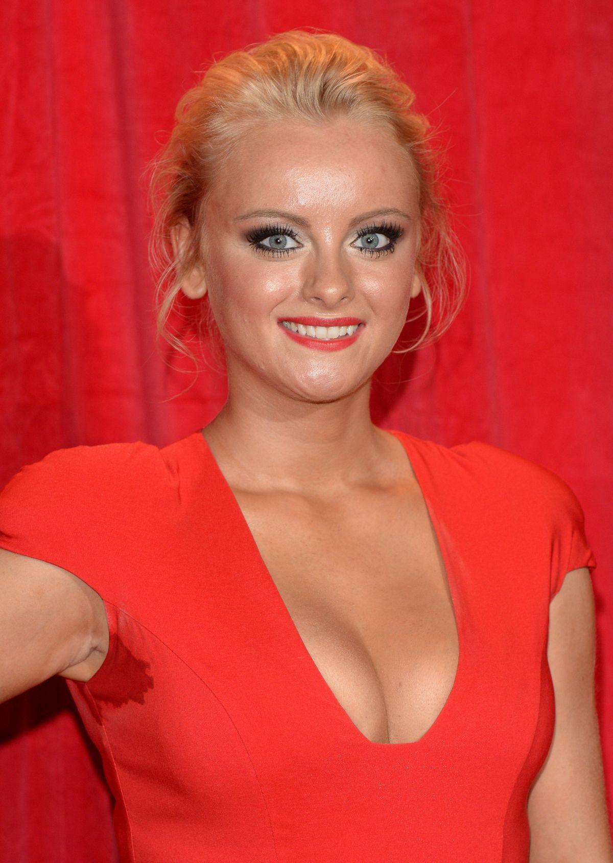 KATIE MCGLYNN at British Soap Awards 2014 in London