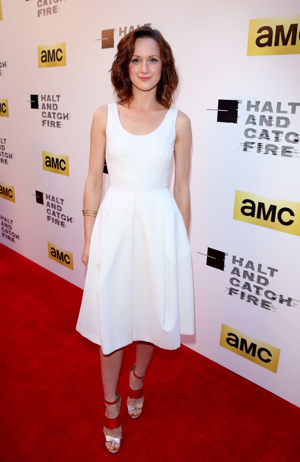 KERRY BISHE at Halt and Catch Fire Premiere in Hollywood
