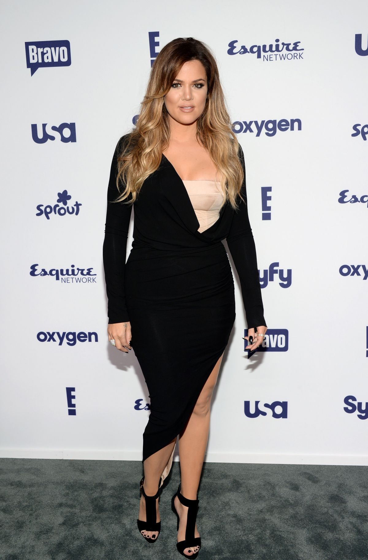 Khloe Kardashian At Nbc Universal Cable Entertainment