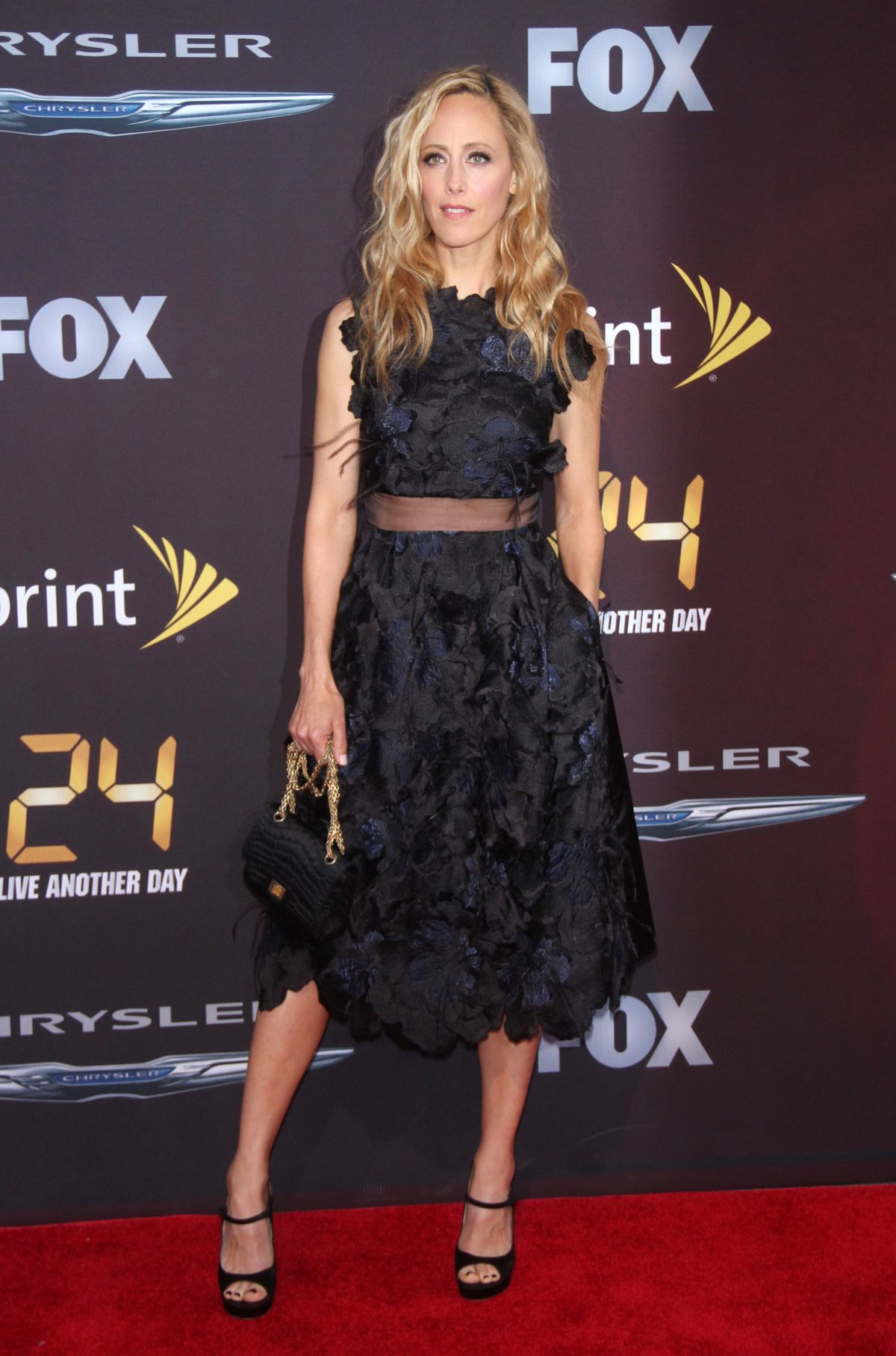 KIM RAVER at 24: Live Another Day World Premiere Event in ...