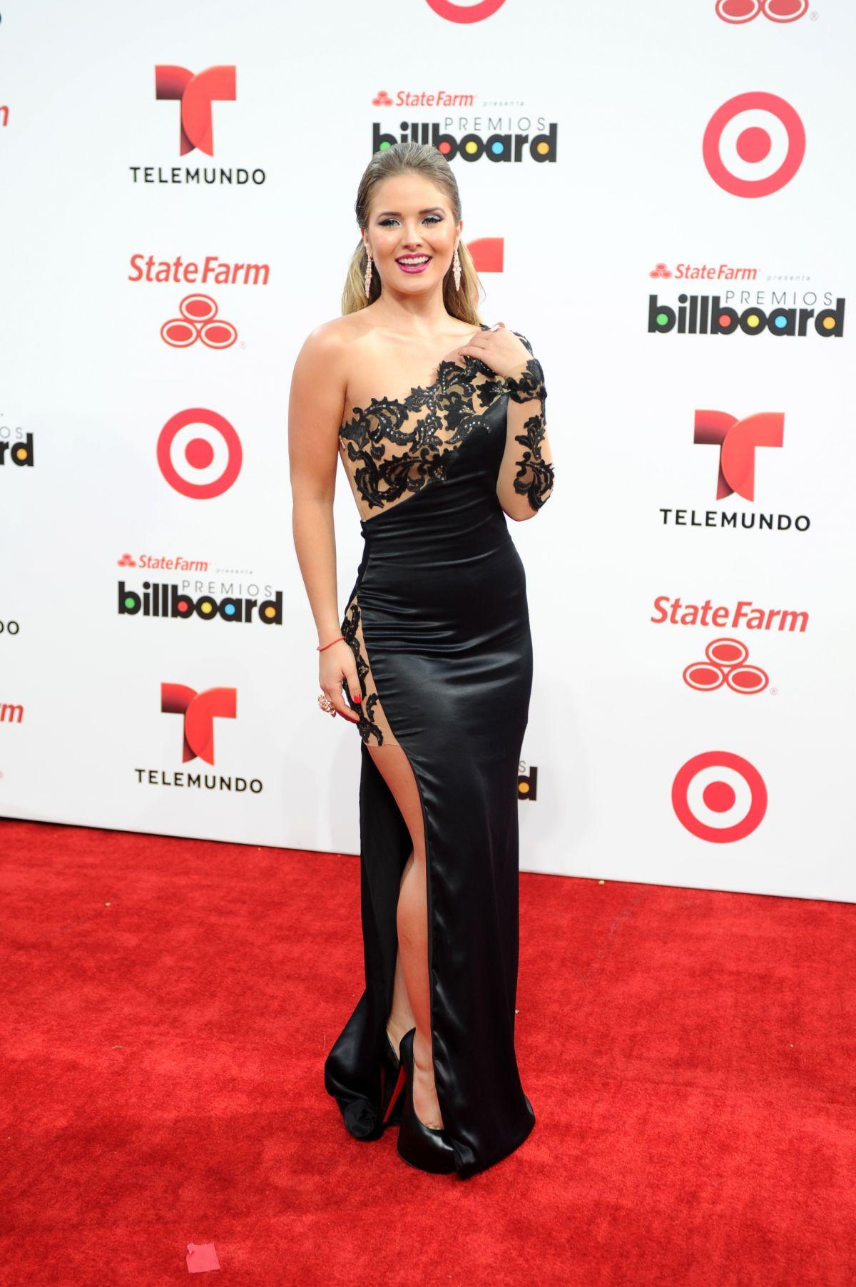 KIMBERLY DOS RAMOS at 2014 Billboard Latin Music Awards in Miami