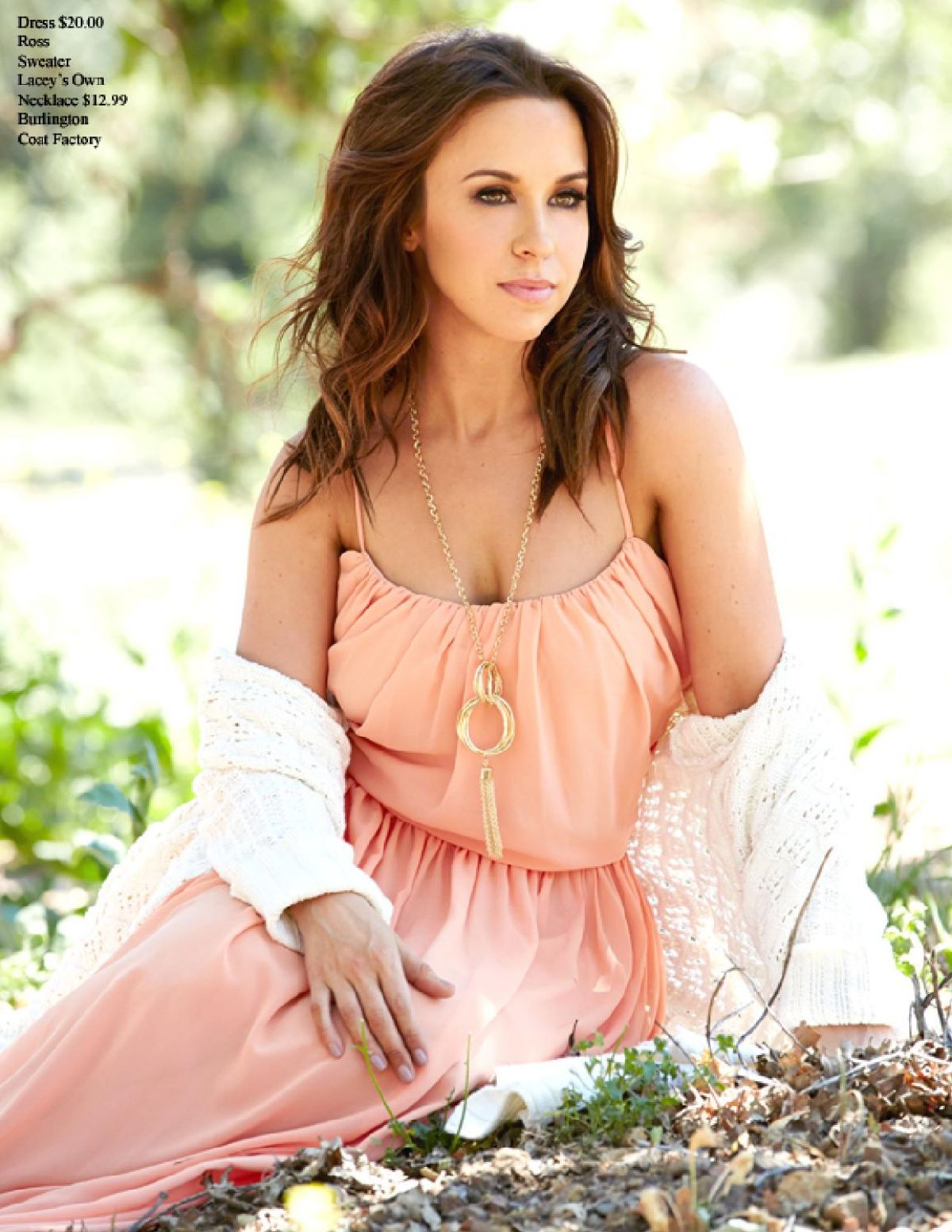 Actress Lacey Chabert in a Bikini - Thirst