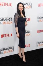 LAURA PREPON at Orange is the New Black Season 2 Premiere in New York