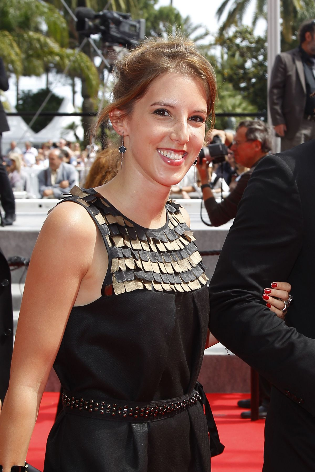 LEA FRANCOIS at Adieu au Language Premiere at Cannes Film Festival