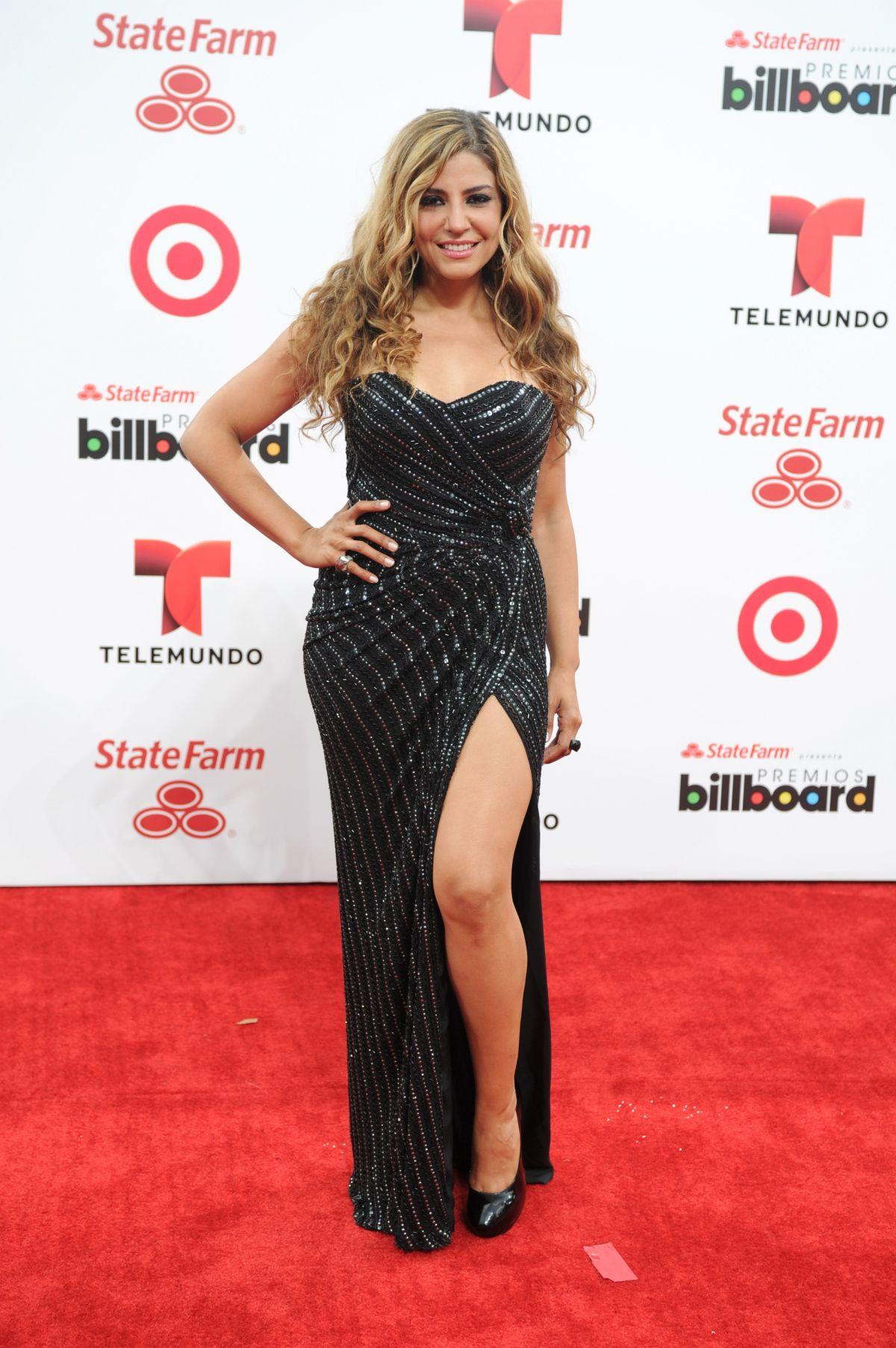 LENA BURKE at 2014 Billboard Latin Music Awards in Miami