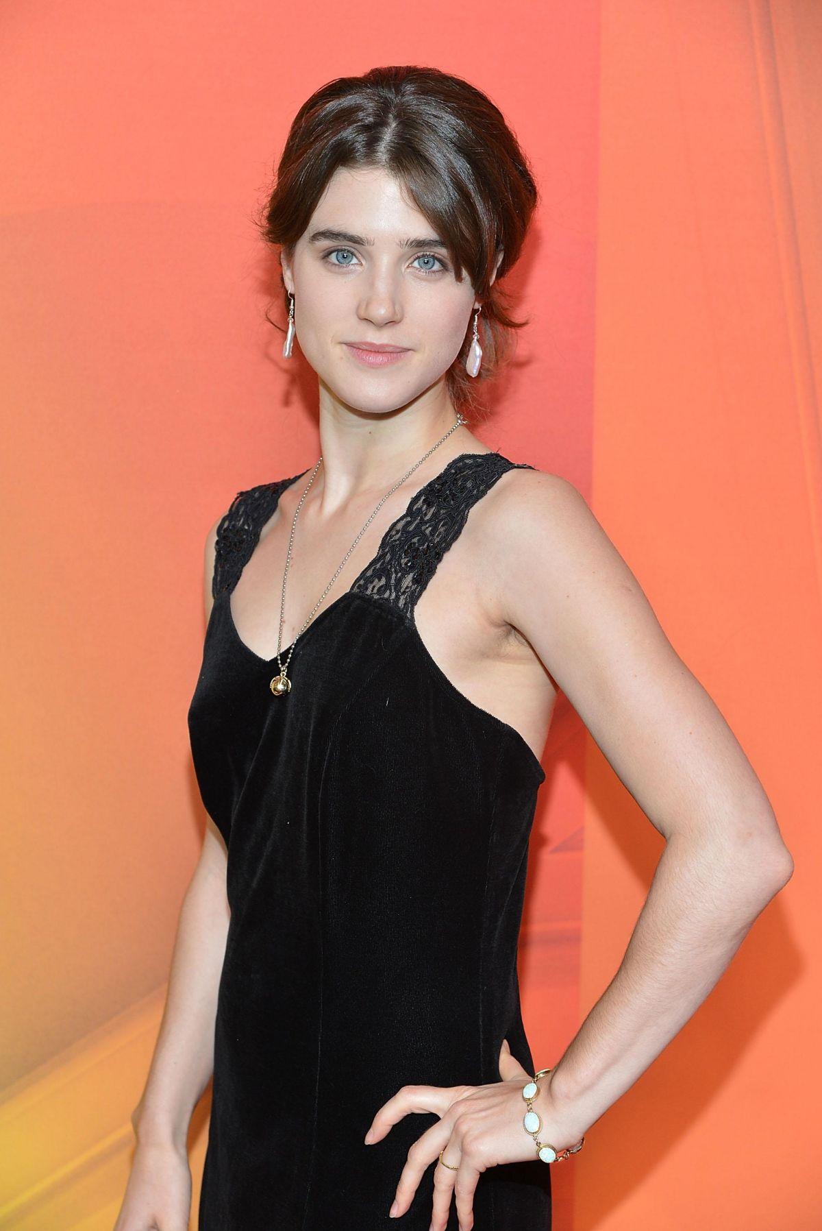 LUCY GRIFFITHS at NBC Upfront Presentation in New York