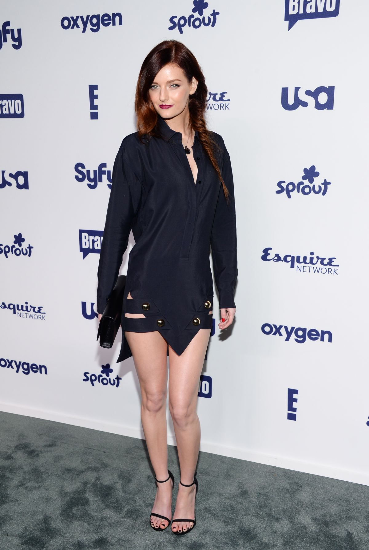 LYDIE HEARST at NBC/Universal Cable Entertainment Upfront Presentation in New York