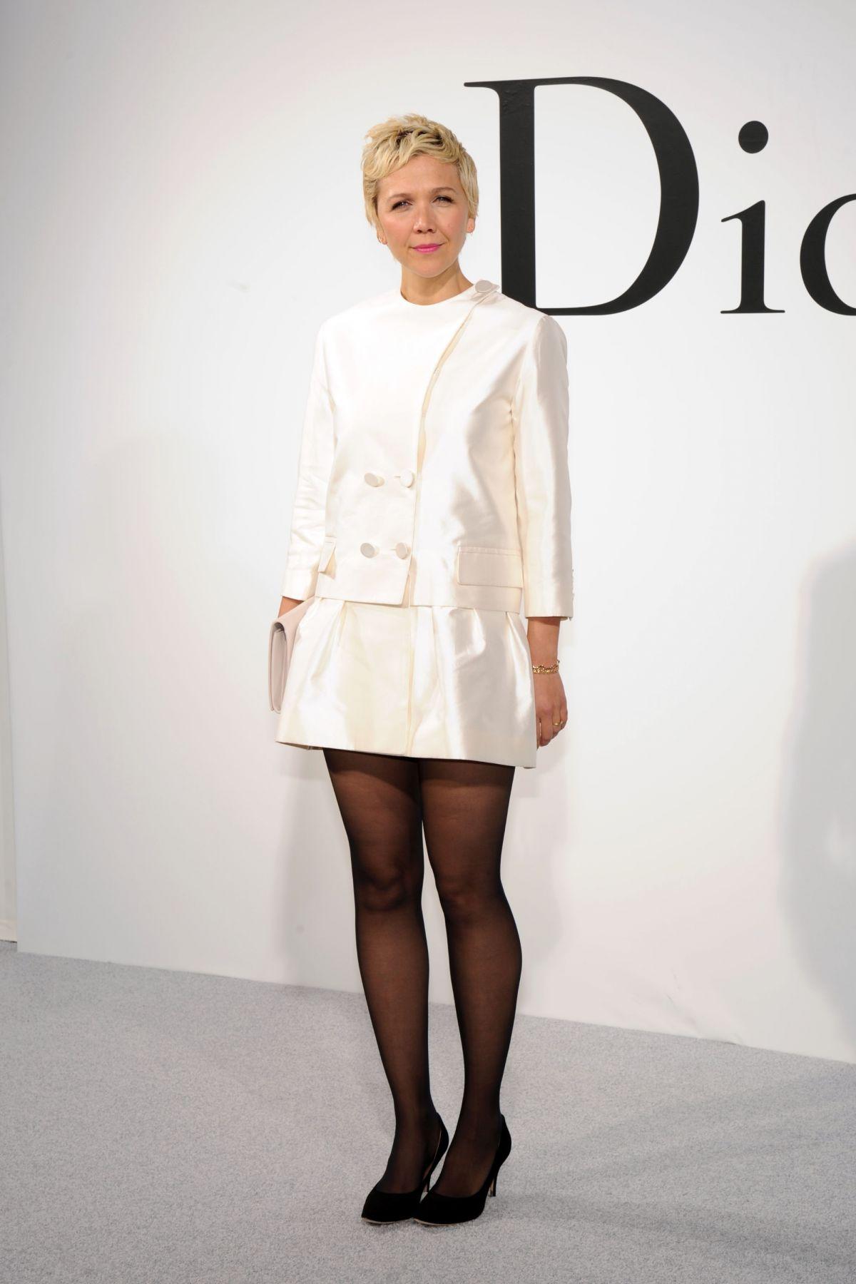 MAGGIE GYLLENHAAL at Dior Cruise 2015 Fashion Show ... мэгги джилленхол