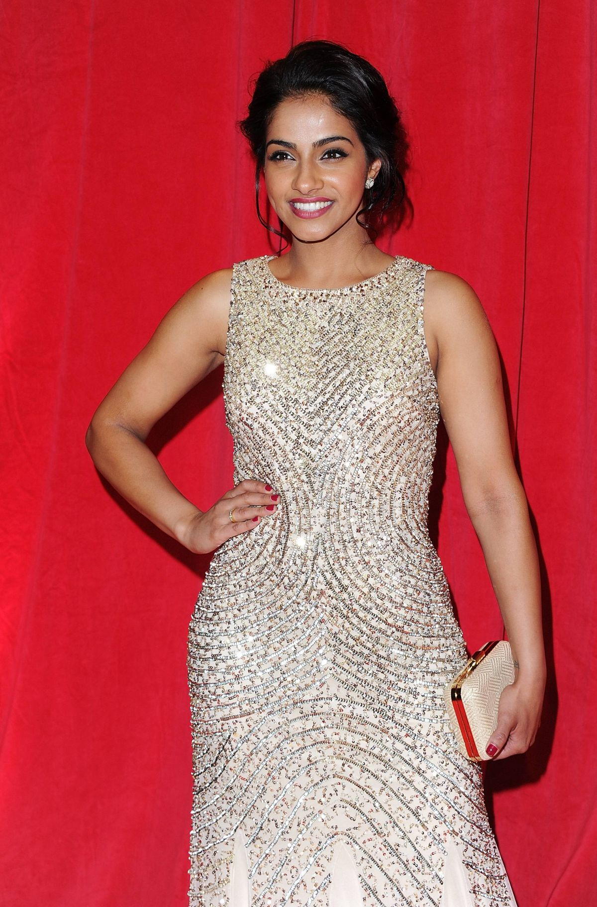 MANDIP GILL at British Soap Awards 2014 in London