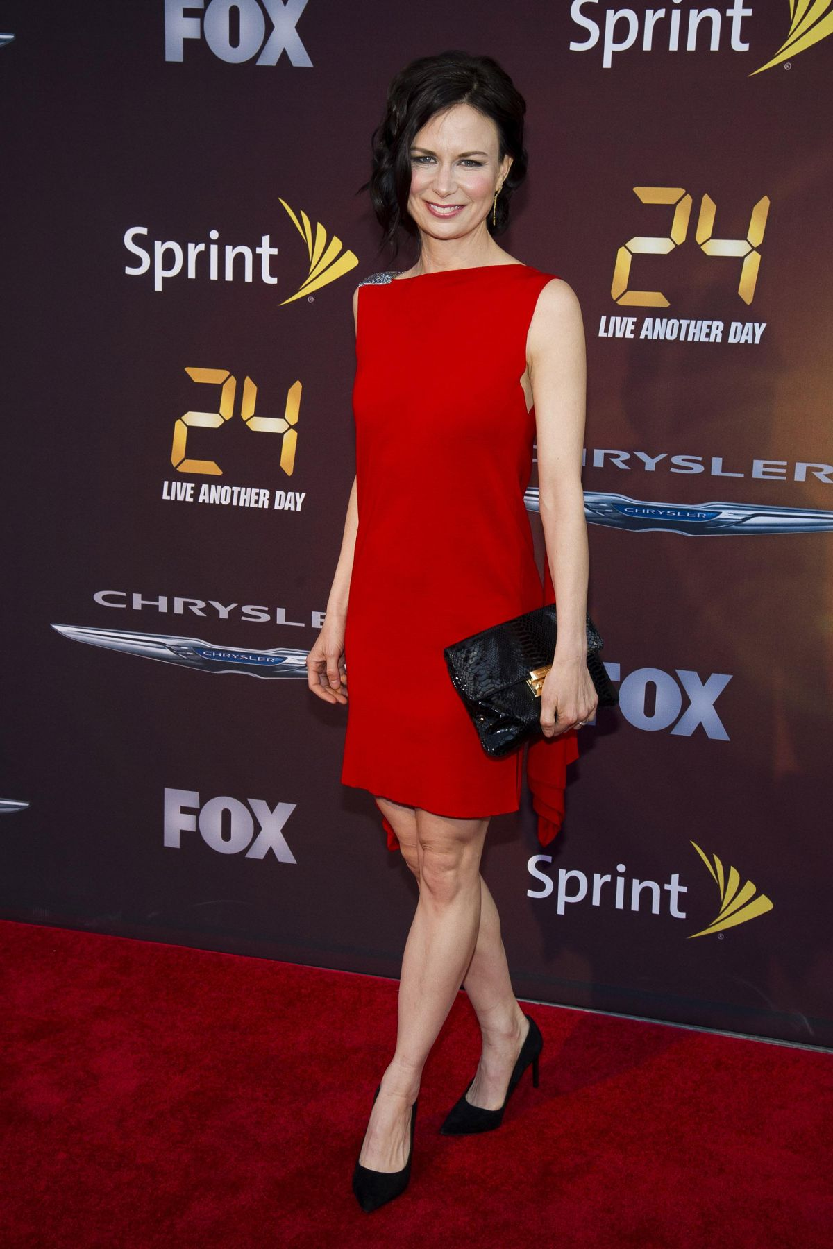 MARY LYNN RAJSKUB at 24: Live Another Day World Premiere Event in New York