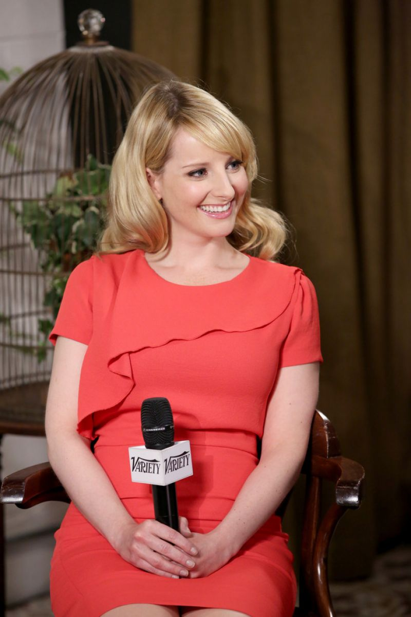melissa rauch at variety studio in west hollywood. Black Bedroom Furniture Sets. Home Design Ideas
