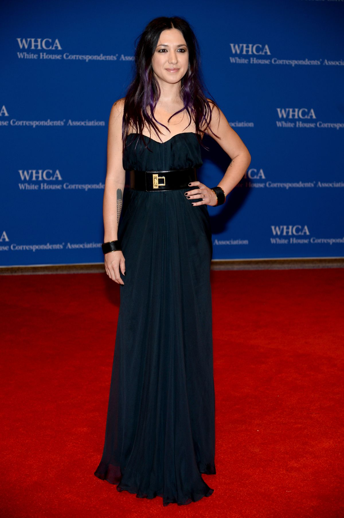 MICHELLE BRANCH at White House Correspondents Association Dinner 2014 in Washington