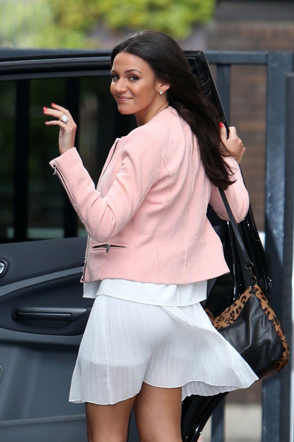 MICHELLE KEEGAN Leaves ITV Studios in London