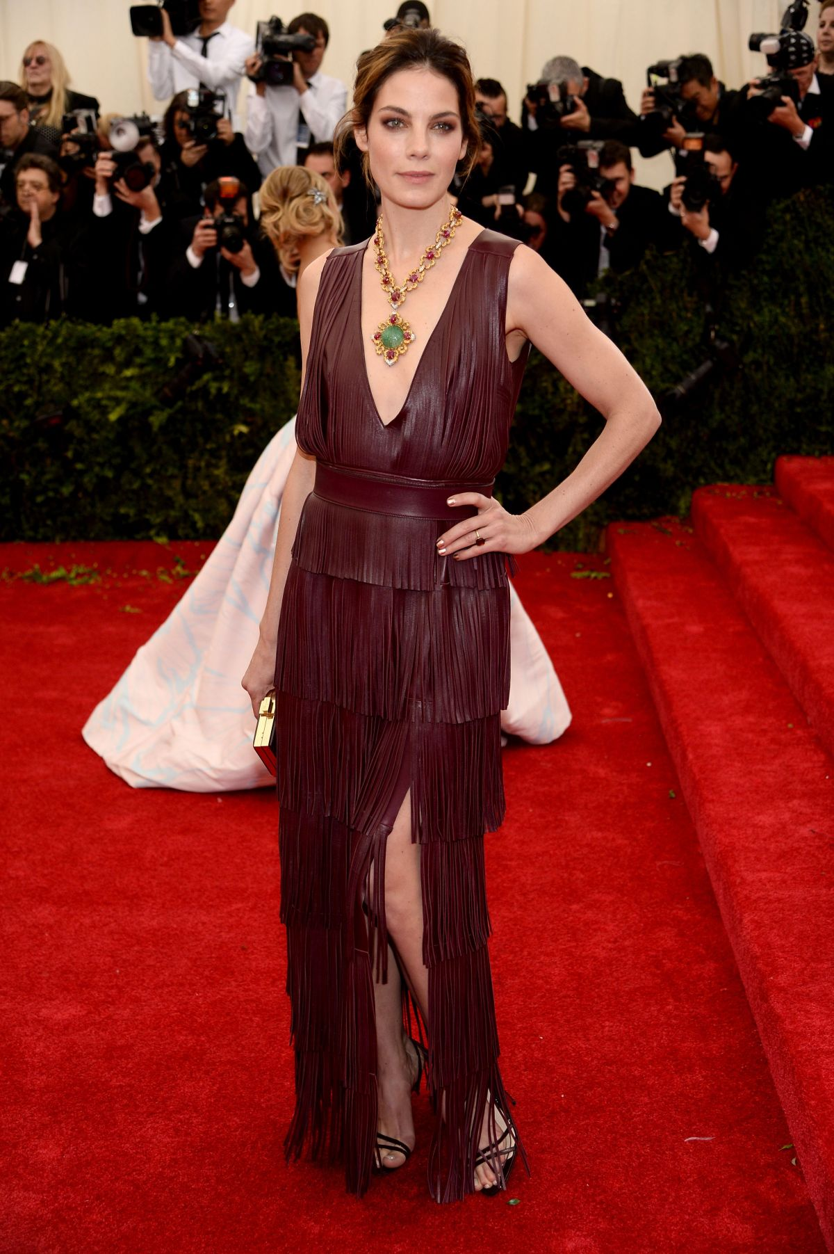 MICHELLE MONAGHAN at MET Gala 2014 in New York