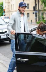 MILA KUNIS and Ashton Kutcher Out and About in Los Feliz