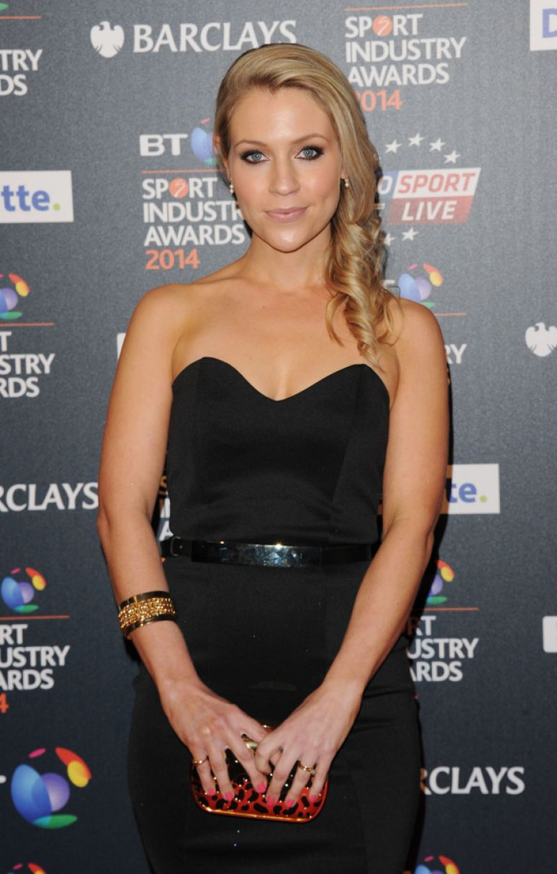 MILLIE CLODE at BT Sport Industry Awards in London