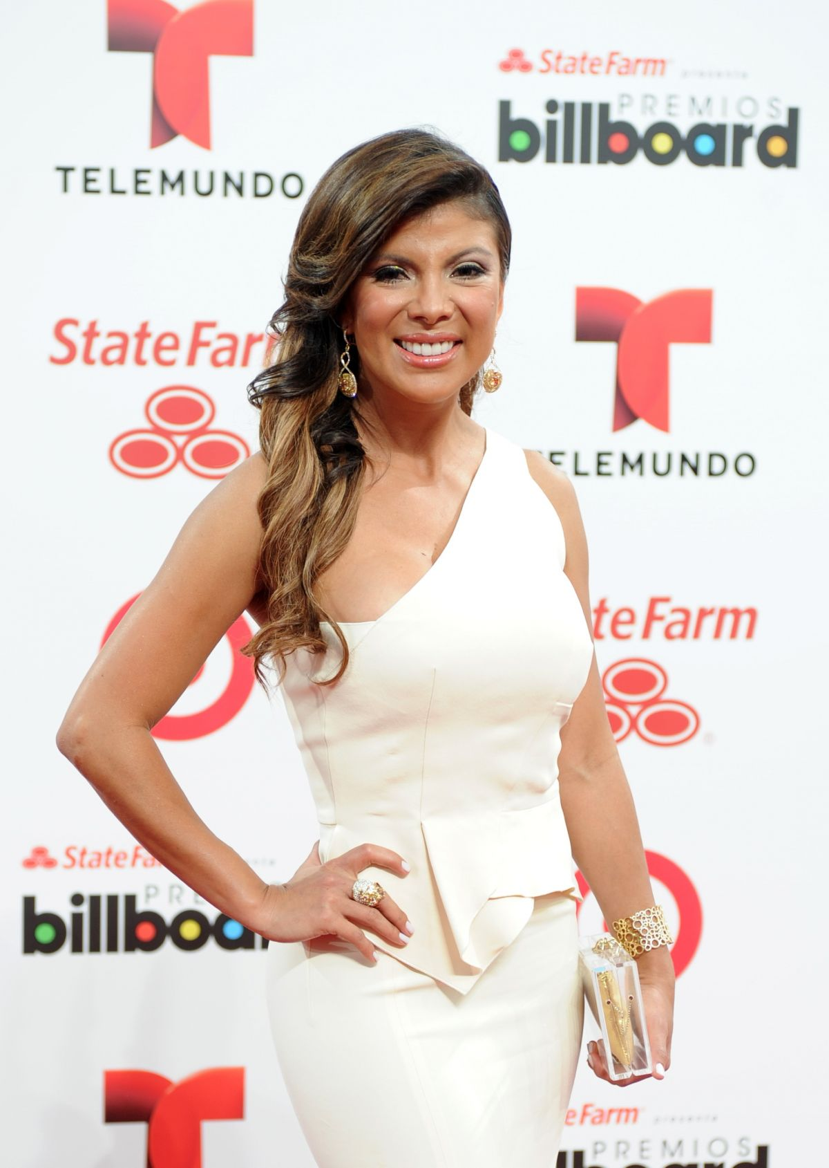 MIRELLA GRISALES at 2014 Billboard Latin Music Awards in Miami