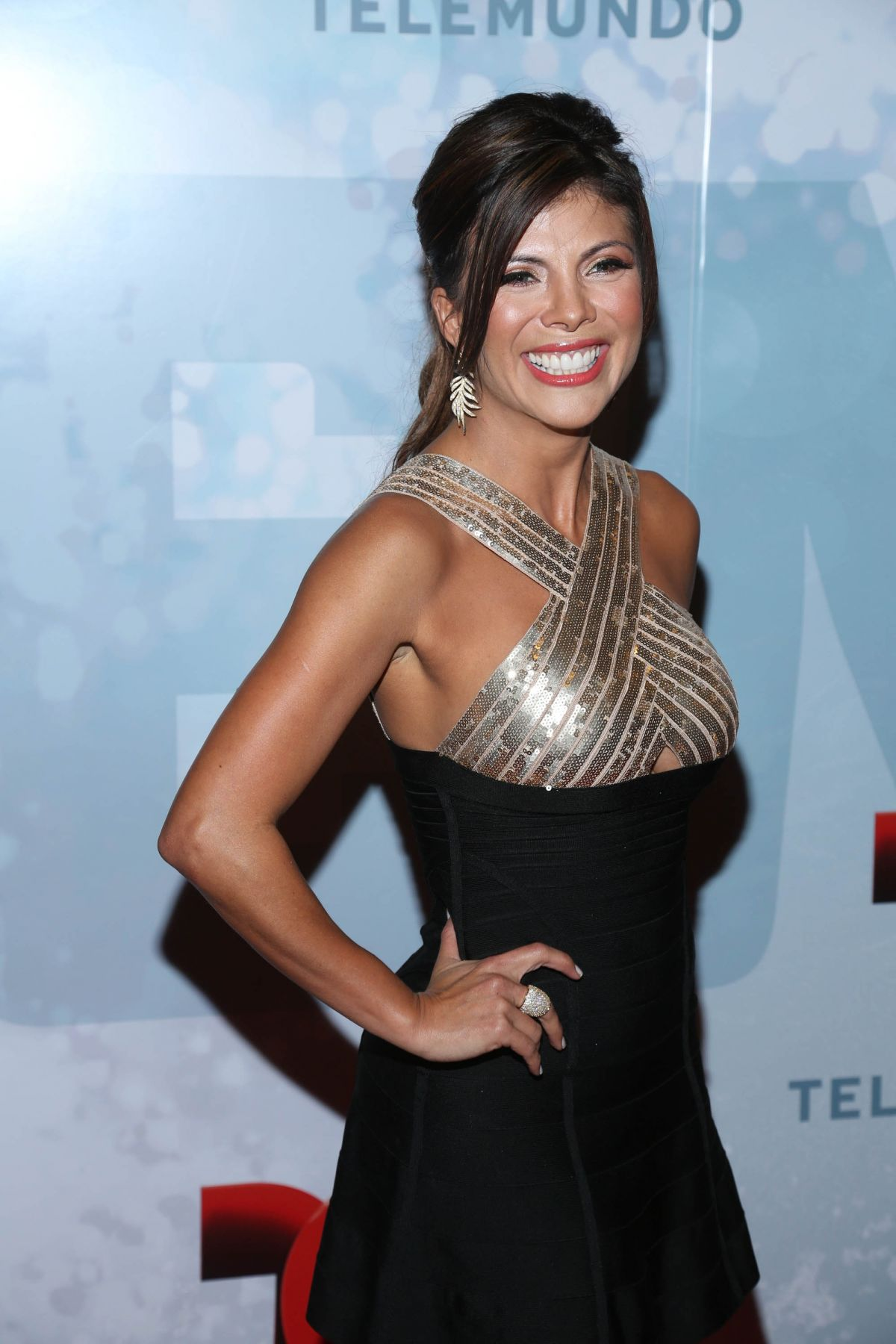 MIRELLA GRISALES at Telemundo Upfront 2014 in New York