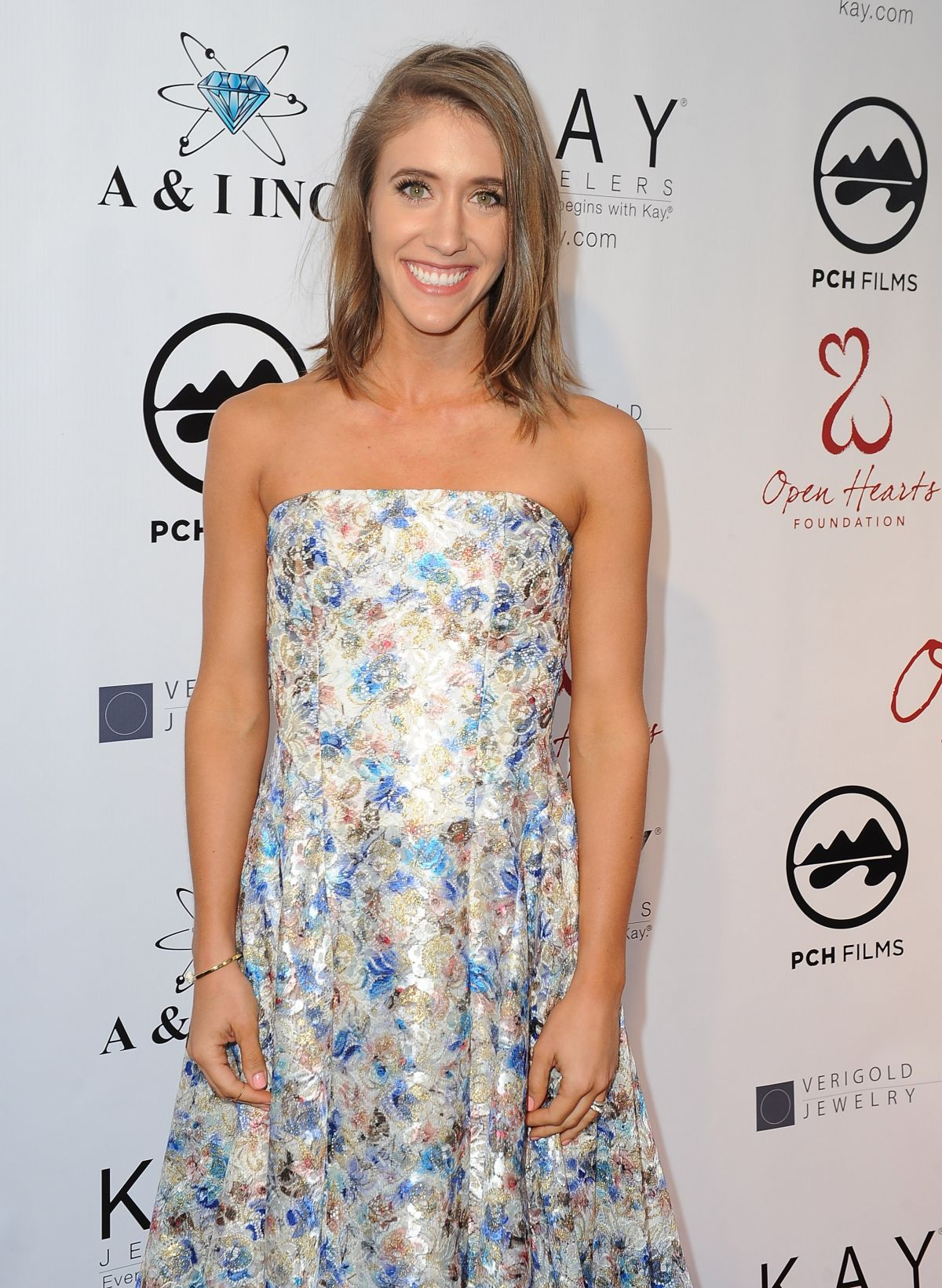 MOLLY THOMPSON at Open Hearts Foundation Gala in Malibu